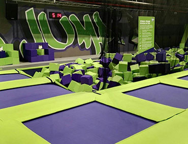 fabricantes trampoline parks